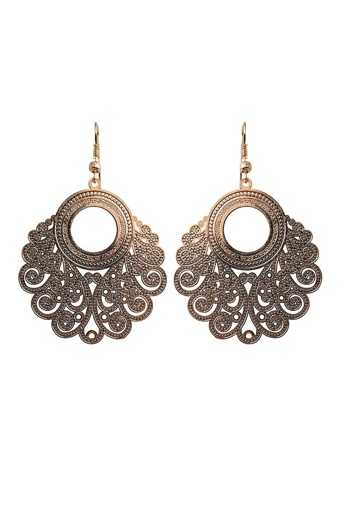 Messina Earring - Gold Leaf