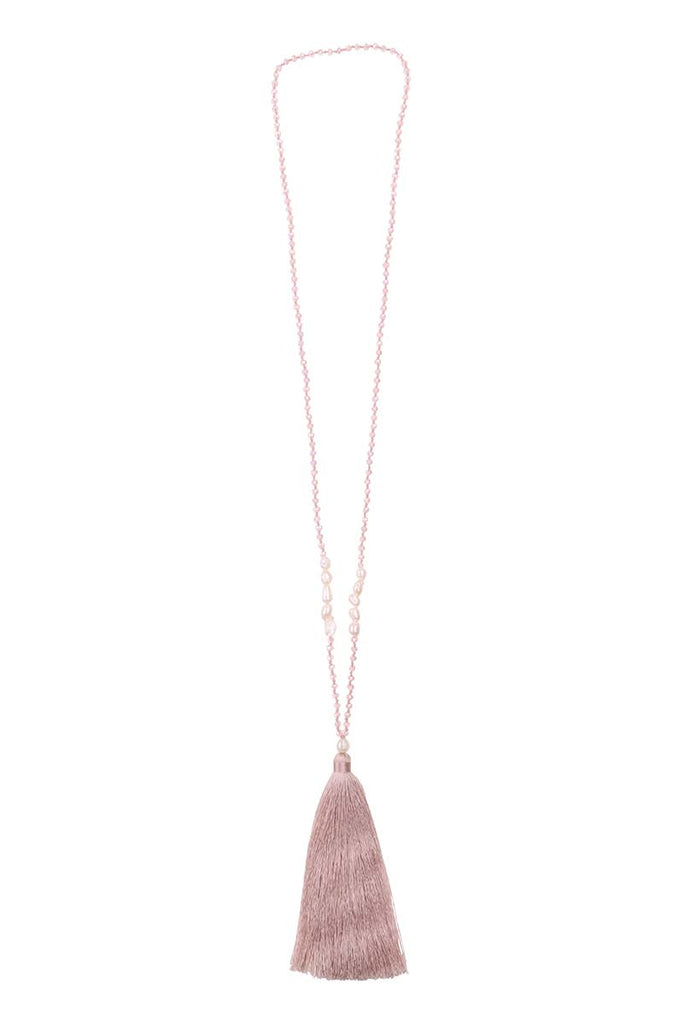 Roseto Necklace - Blush