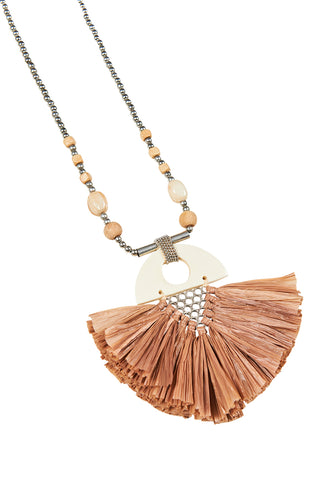 Zambezi Necklace - Camel