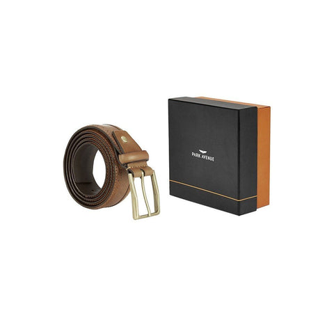 Park Avneue  Khaki Leather Belt