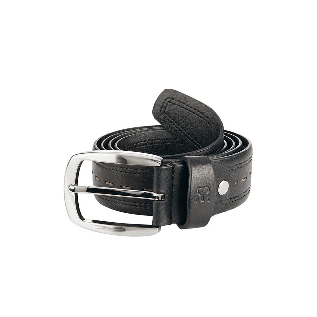 Raymond Black Men's Leather Belt