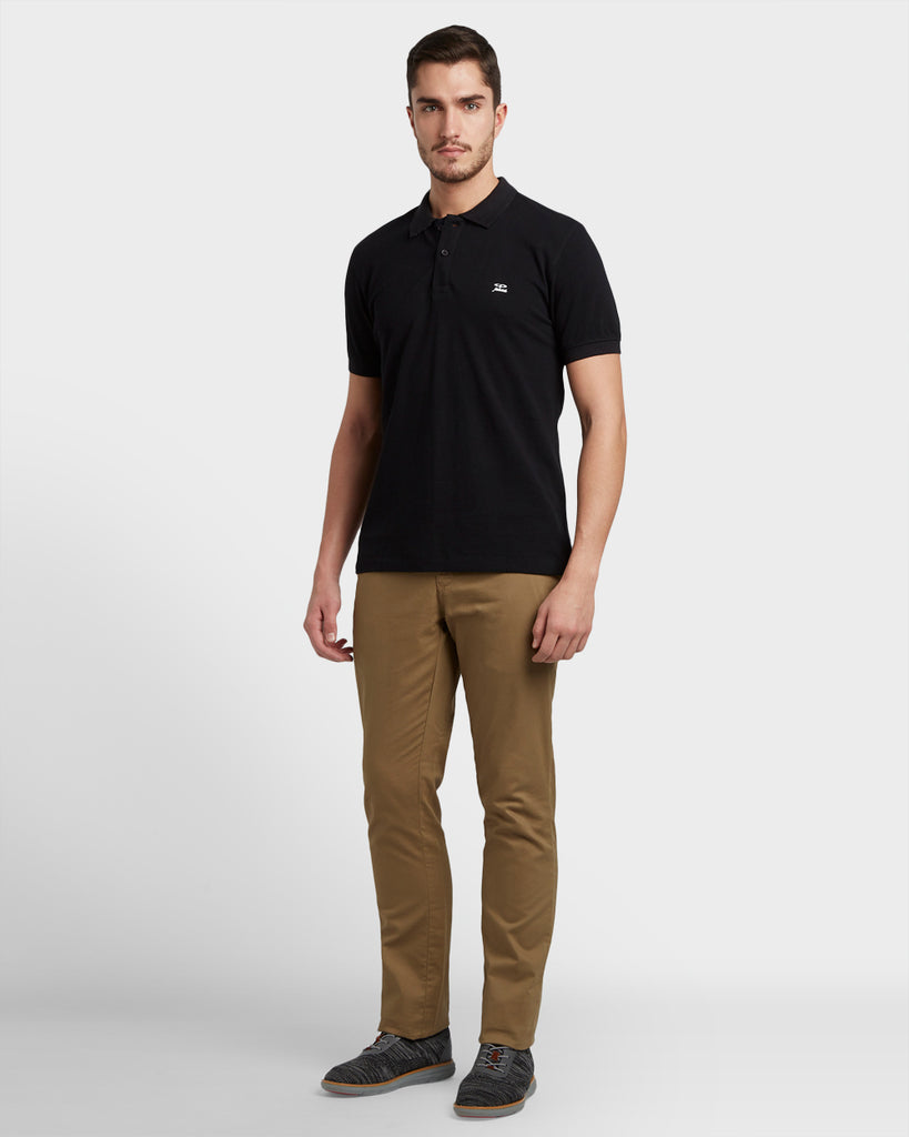 ColorPlus Black Slim Fit T-Shirt