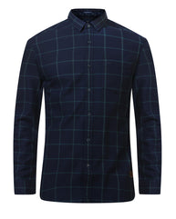 ColorPlus Indigo Regular Fit Shirt