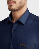 ColorPlus Dark Indigo Regular Fit Shirt