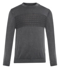 ColorPlus Grey Tailored Fit Sweater