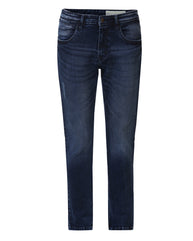 ColorPlus Indigo Tapered Fit Jeans