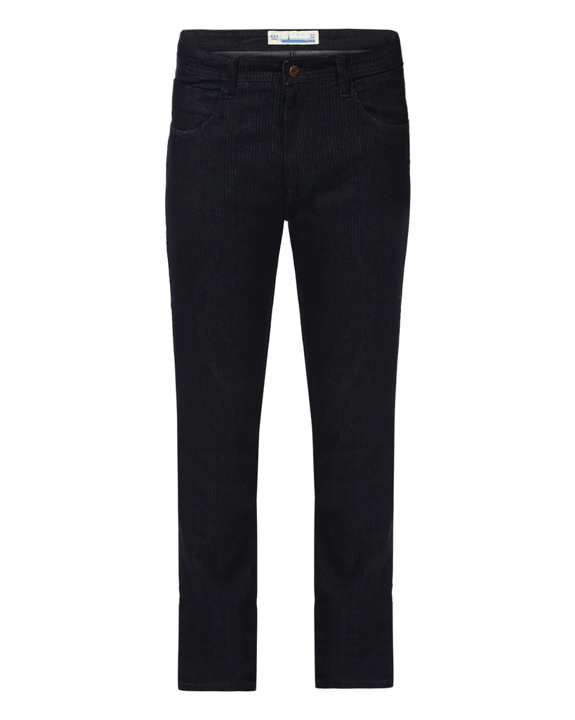 ColorPlus Blue Tapered Fit Jeans