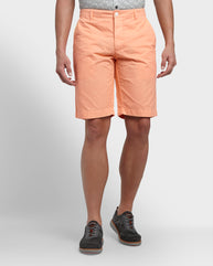 ColorPlus Medium Orange Contemporary Fit Shorts