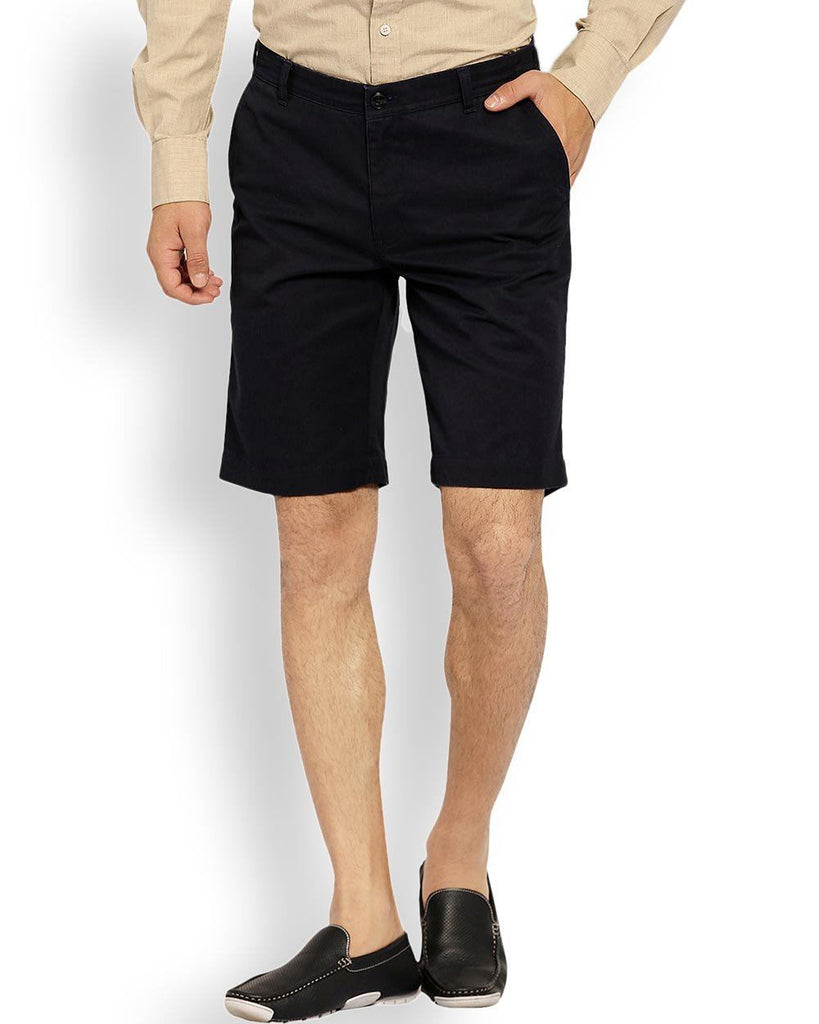 ColorPlus  Navy Blue Tailored Fit Short