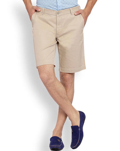 ColorPlus  Beige Tailored Fit Short