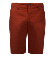 ColorPlus Dark Red Slim Fit Shorts
