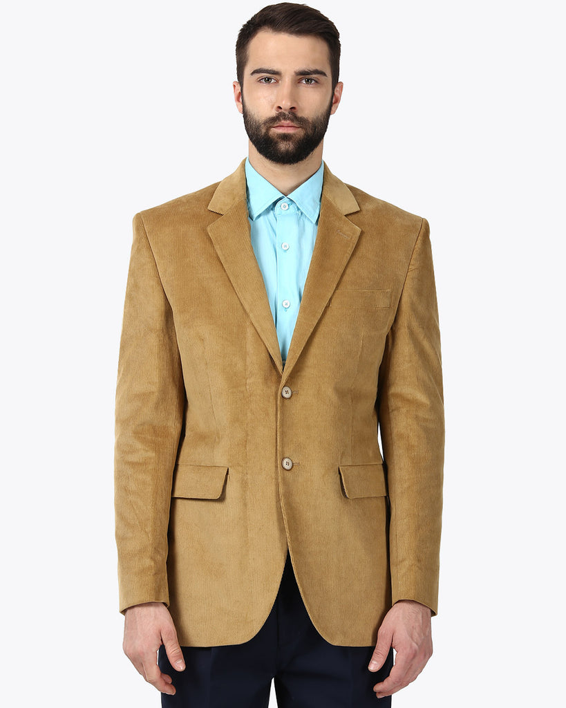 ColorPlus Khaki Custom Fit Blazer