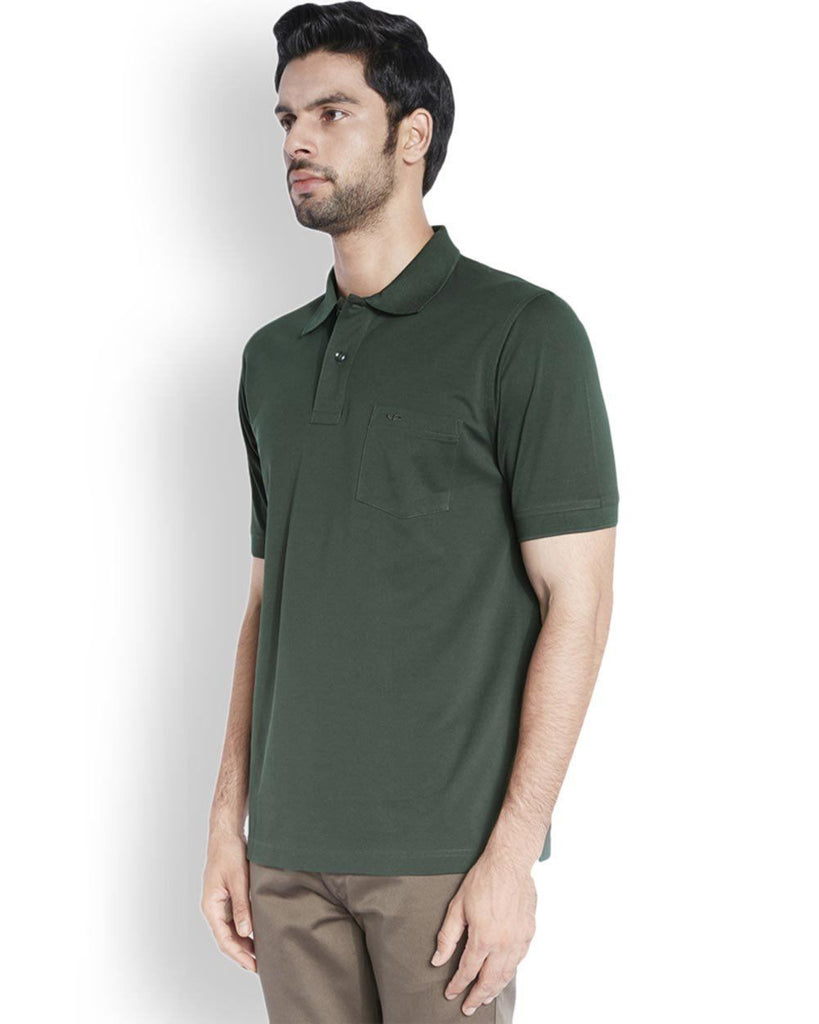 ColorPlus  Green Classic Fit T-Shirt