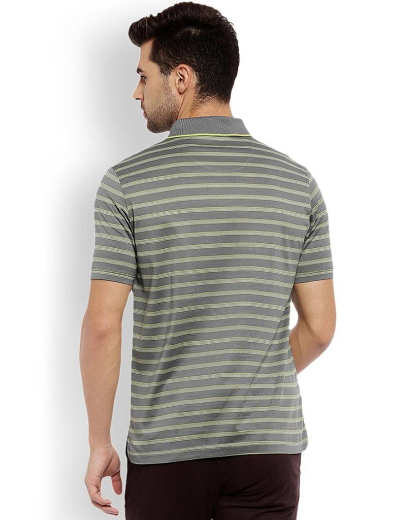 ColorPlus Grey Regular Fit T-Shirt