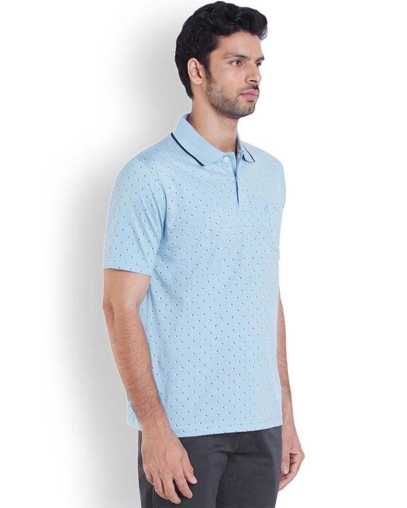ColorPlus  Blue Classic Fit T-Shirt