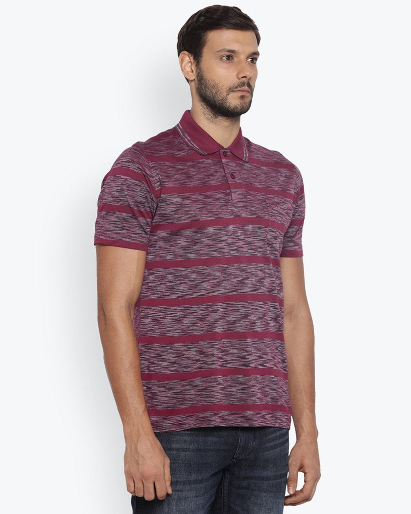 ColorPlus Medium Purple Classic Fit T-Shirt