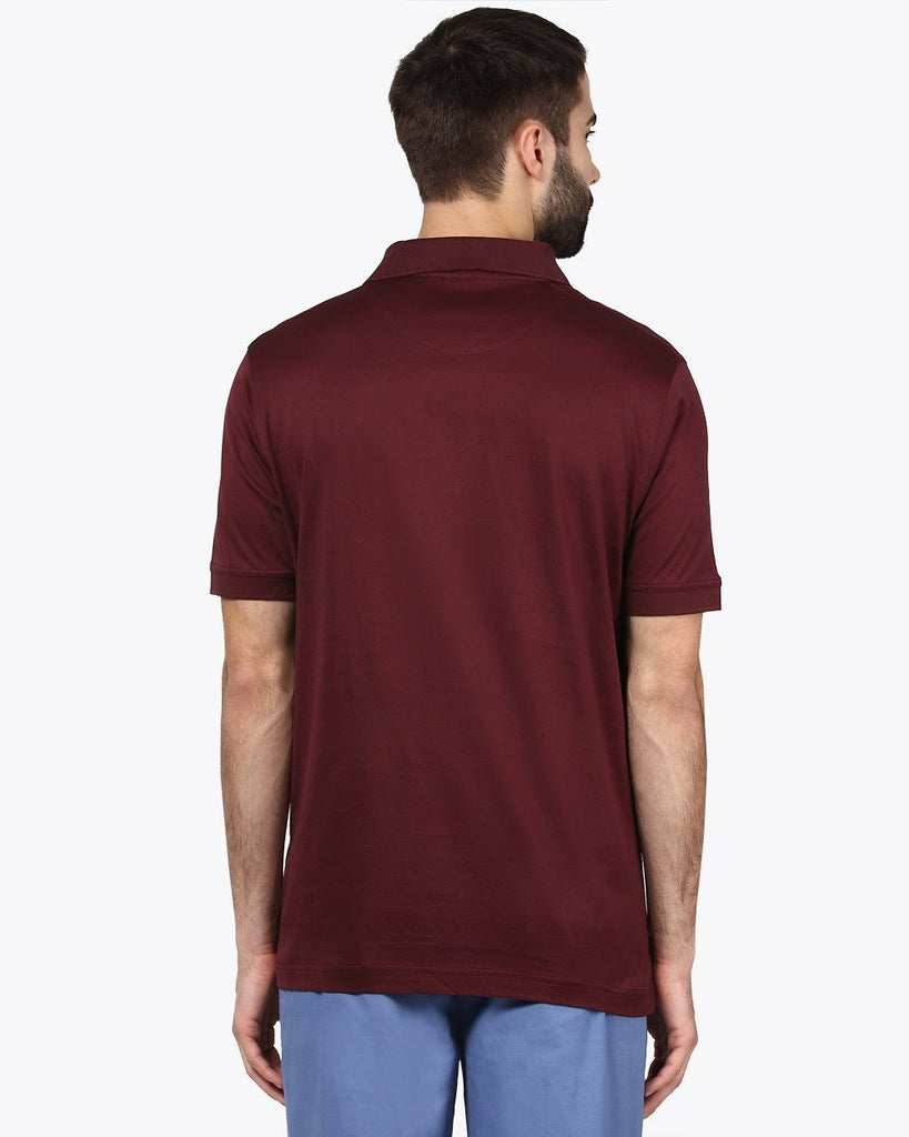 ColorPlus Dark Brown Classic Fit T-Shirt