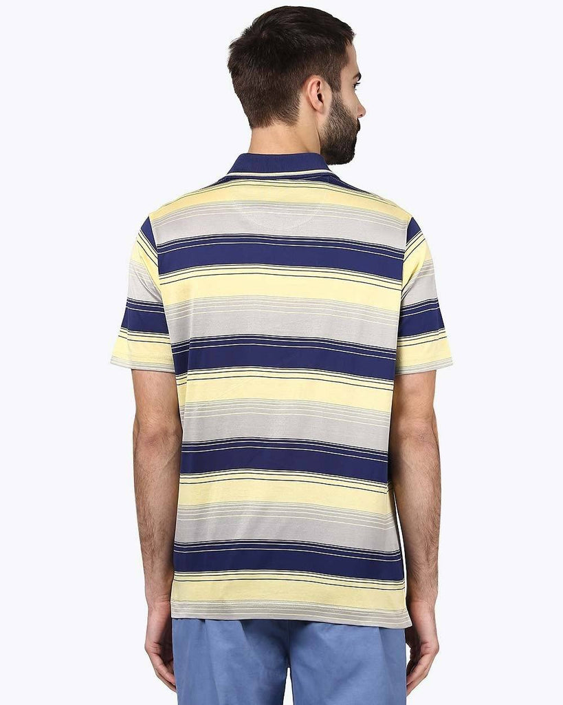 ColorPlus Dark Yellow Classic Fit T-Shirt