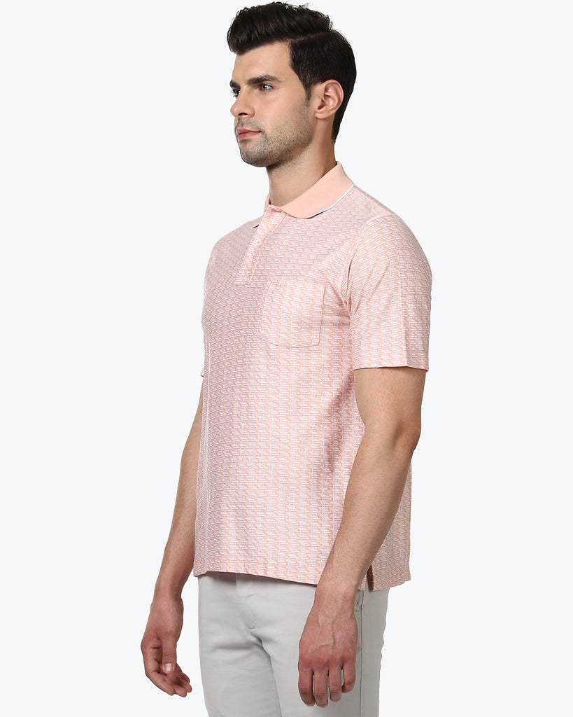 ColorPlus Pink Classic Fit T-Shirt