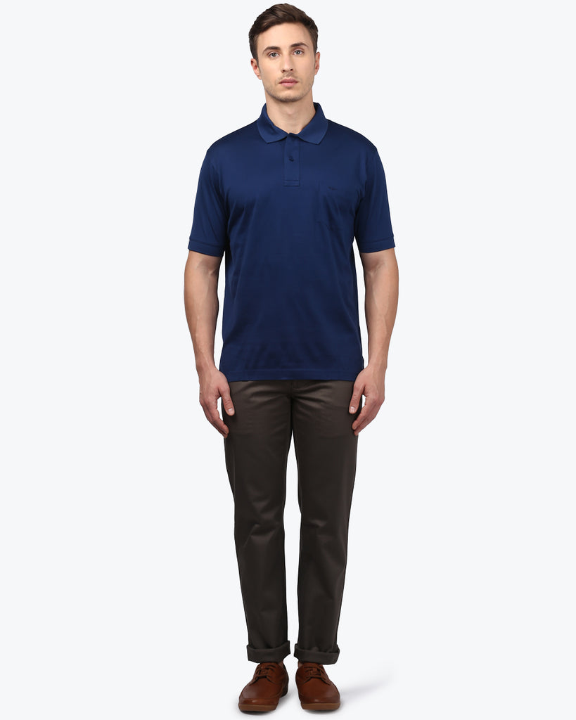 ColorPlus Navy Classic Fit T-Shirt