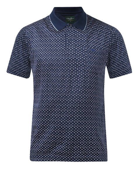 ColorPlus Navy Blue Classic Fit T-Shirt