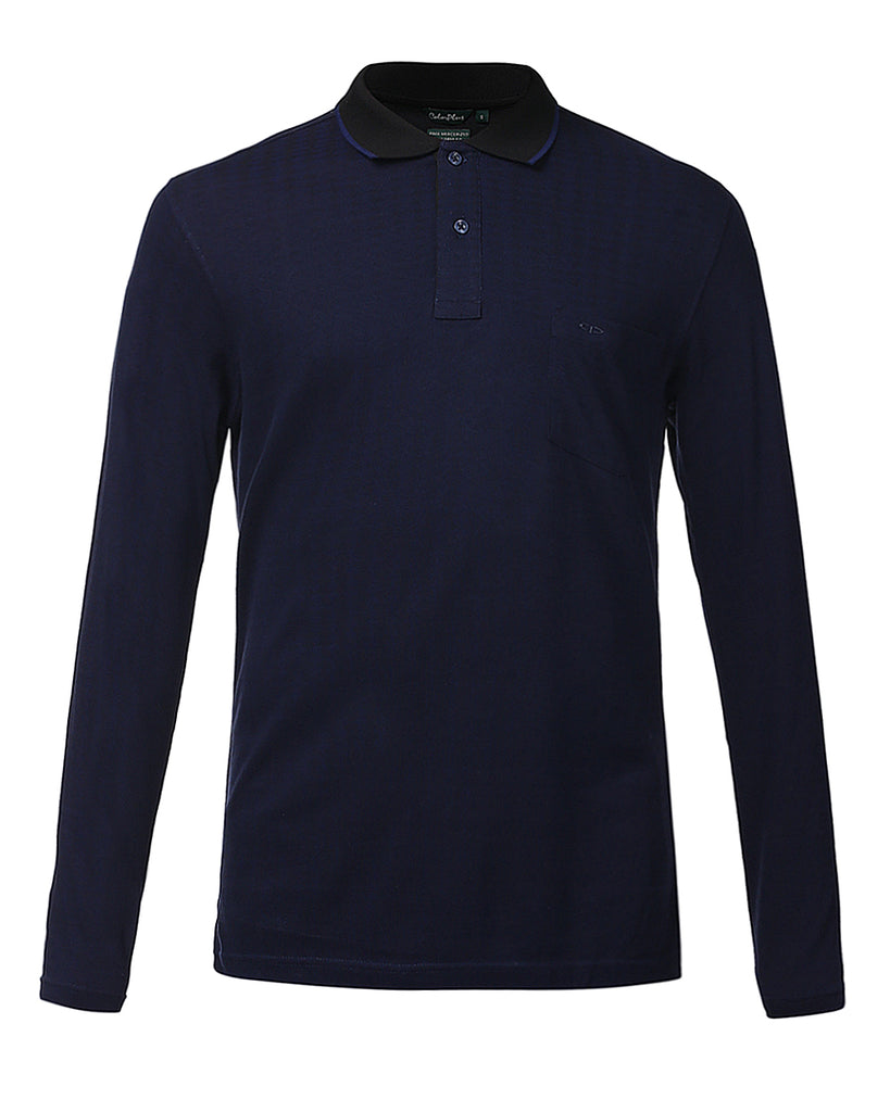 ColorPlus Dark Blue Tailored Fit T-Shirt