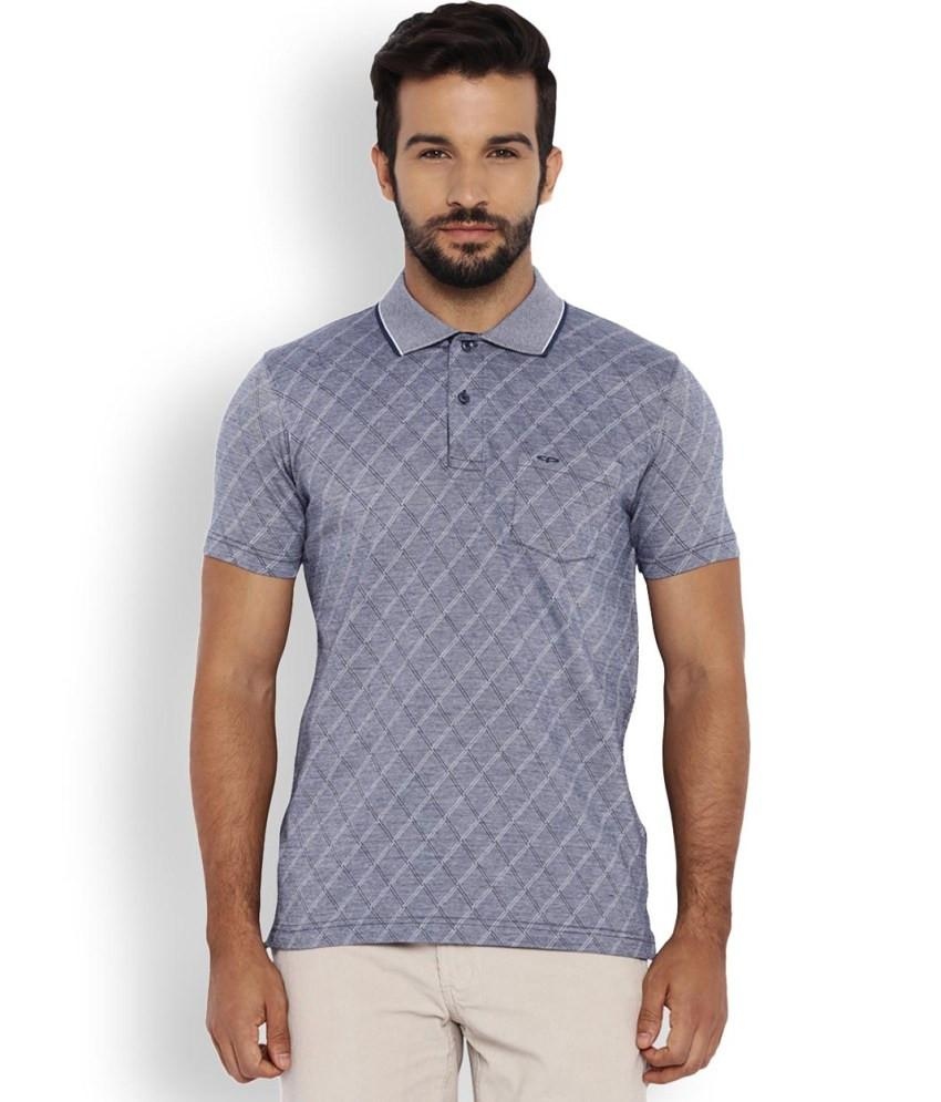 ColorPlus Blue Tailored Fit T-Shirts