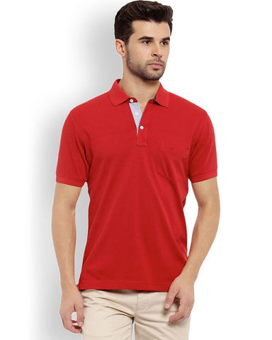 ColorPlus  Red Tailored Fit T-Shirt