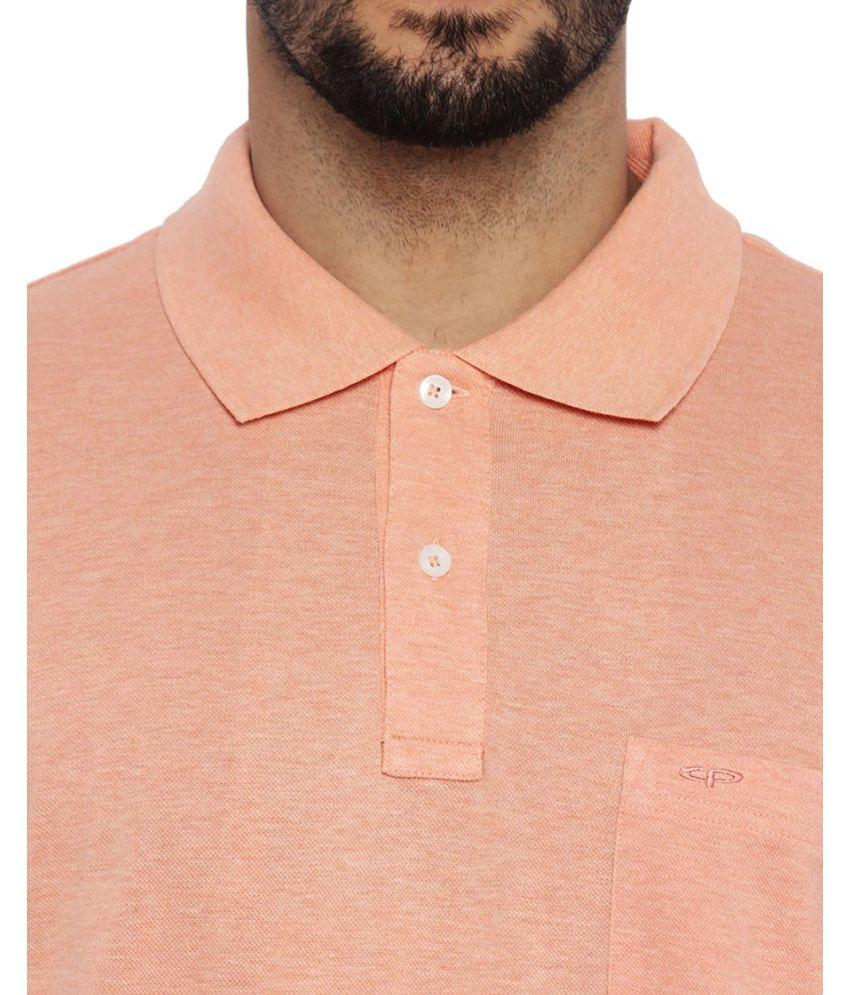 ColorPlus Medium Orange Tailored Fit T-Shirt