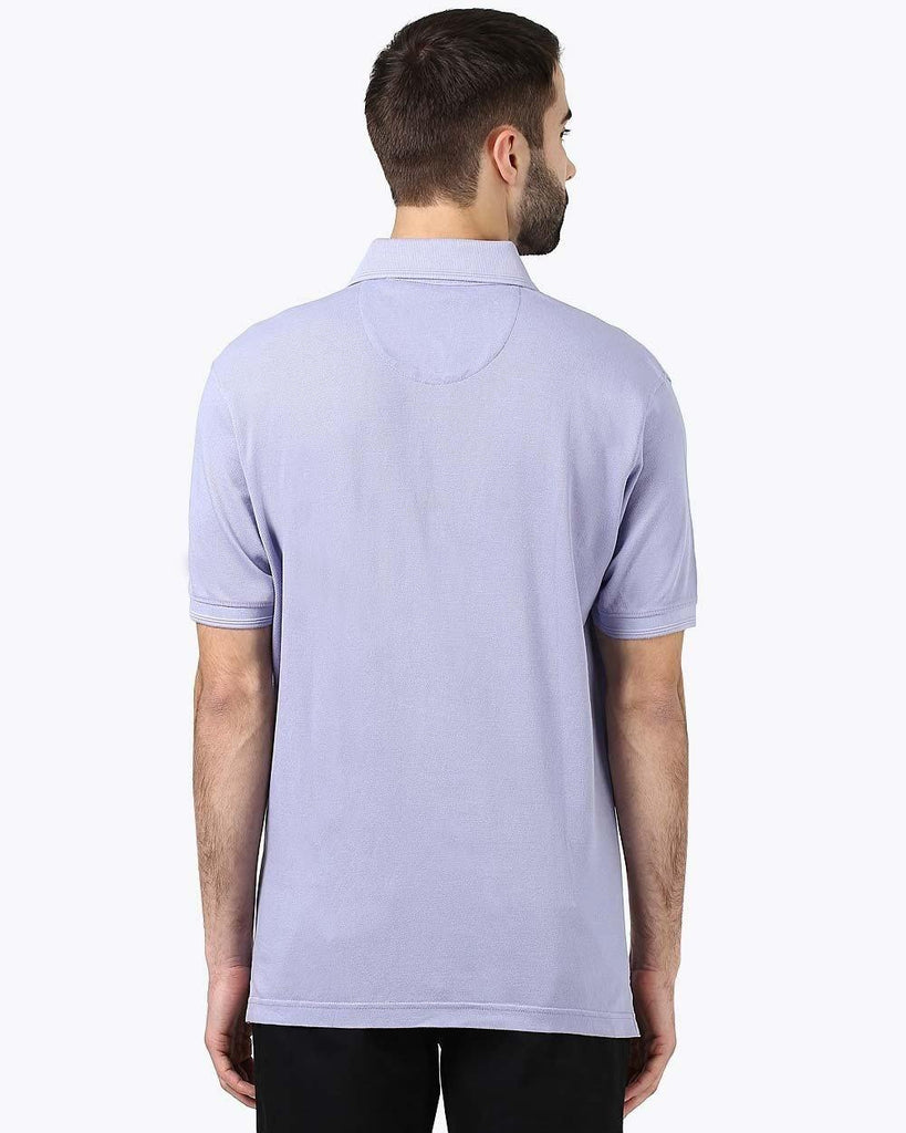 ColorPlus Violet Tailored Fit T-Shirt
