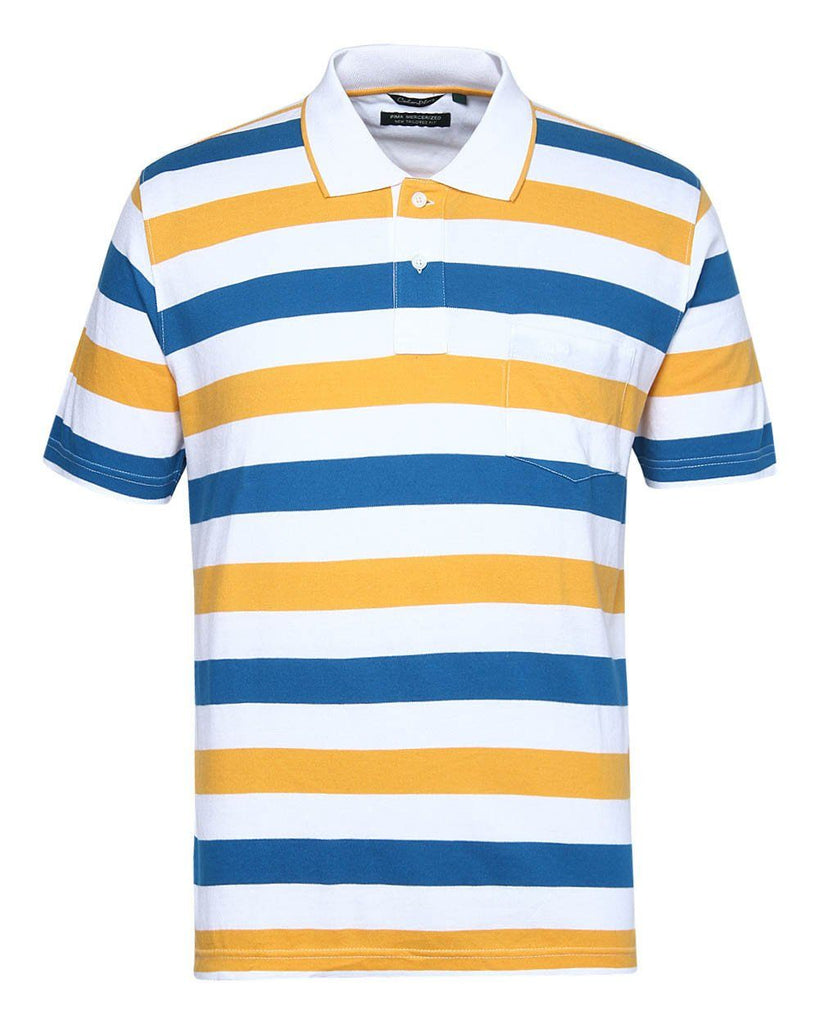 ColorPlus Yellow Tailored Fit T-Shirt