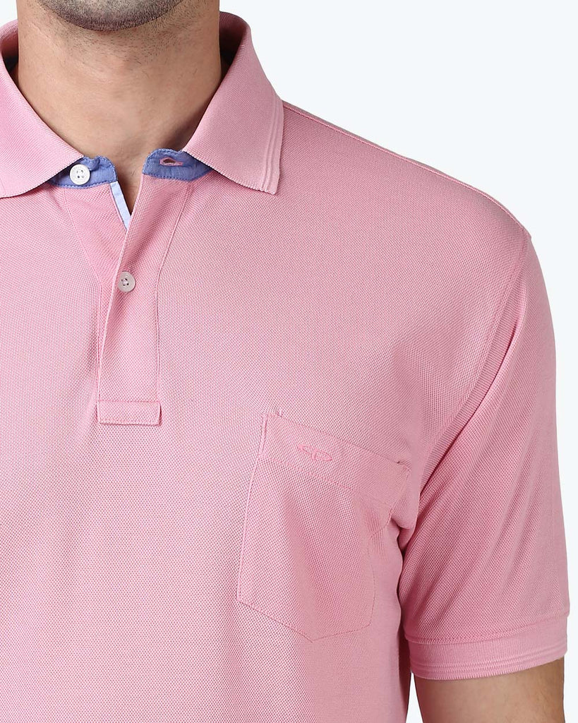 ColorPlus Pink Tailored Fit T-Shirt