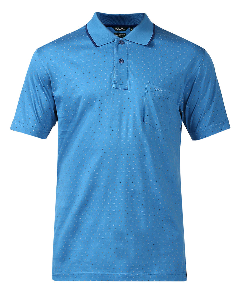 ColorPlus Medium Blue Tailored Fit T-Shirt