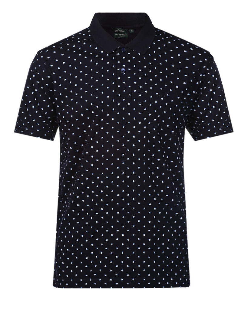 ColorPlus Navy Tailored Fit T-Shirt