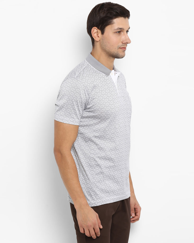 ColorPlus Grey Tailored Fit T-Shirt