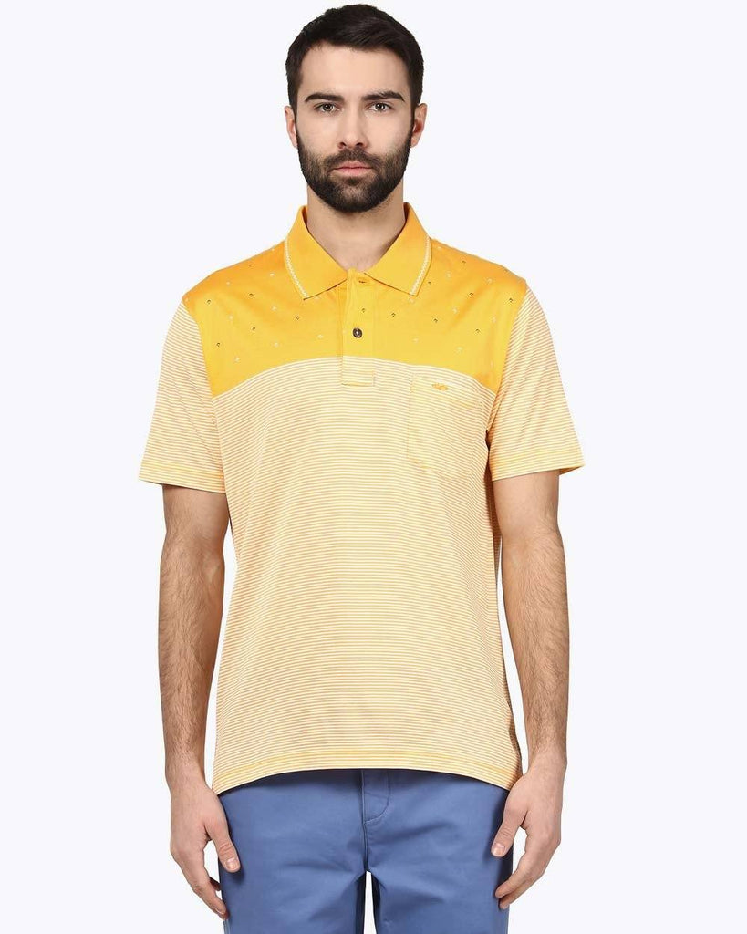 ColorPlus Dark Yellow Tailored Fit T-Shirt