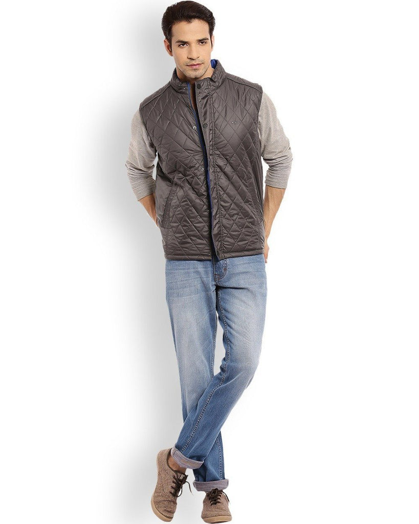 ColorPlus  Grey Classic Fit Outerwear