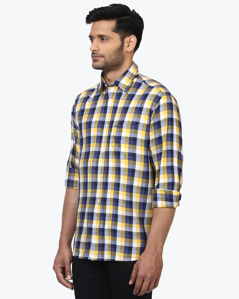 ColorPlus Yellow Classic Fit Shirt