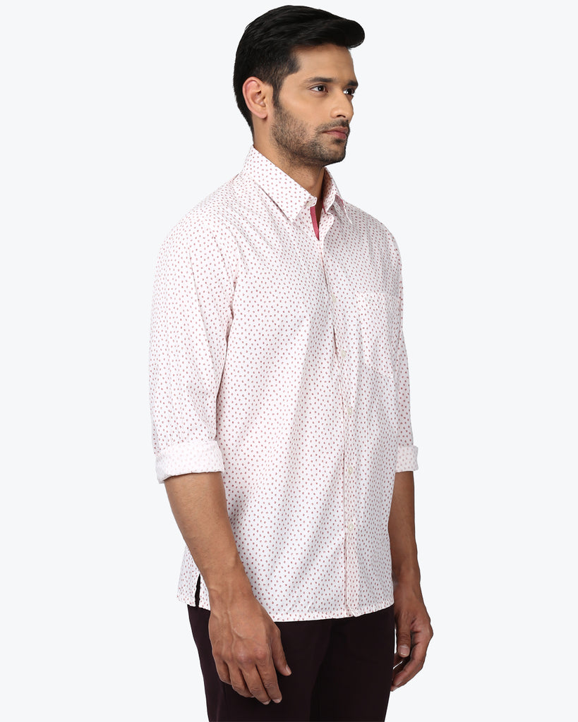 ColorPlus Orange Classic Fit Shirt