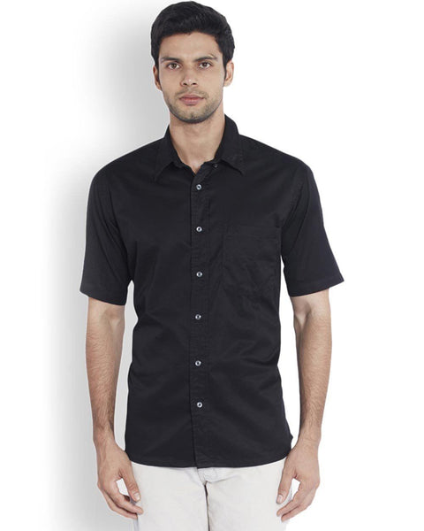ColorPlus  Black Classic Fit Shirt