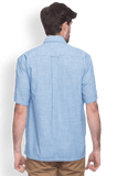 ColorPlus  Blue Classic Fit Shirt