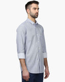 ColorPlus Medium Blue Tailored Fit Shirt