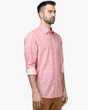 ColorPlus Medium Red Tailored Fit Shirt