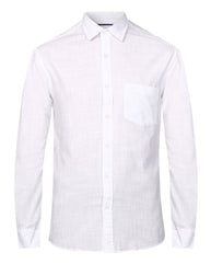 ColorPlus White Slim Fit Shirt