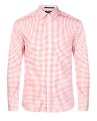 ColorPlus Orange Tailored  Shirt