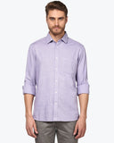 ColorPlus Violet Tailored Fit Shirt