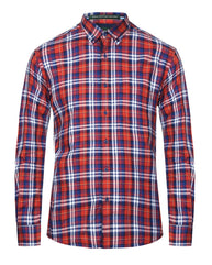 ColorPlus Red Tailored  Shirt