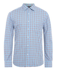 ColorPlus Blue Tailored  Shirt