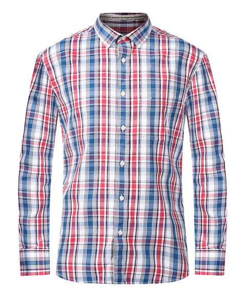 ColorPlus Multicoloured Tailored Fit Shirt