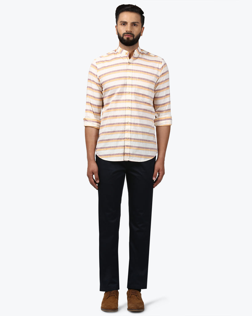 ColorPlus Fawn Tailored Fit Shirt